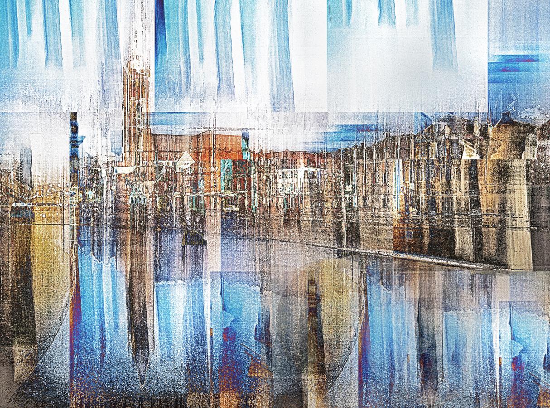 Blau über Roermond